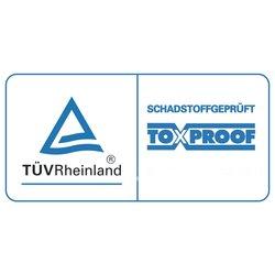 toxproof Schadstoffgeprüft - TÜV Rheinland
