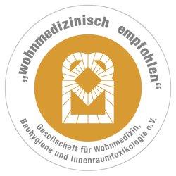 Wohnmedizinisch empfohlen – Gesellschaft für Wohnmedizin, Bauhygiene und Innenraumtoxikologie