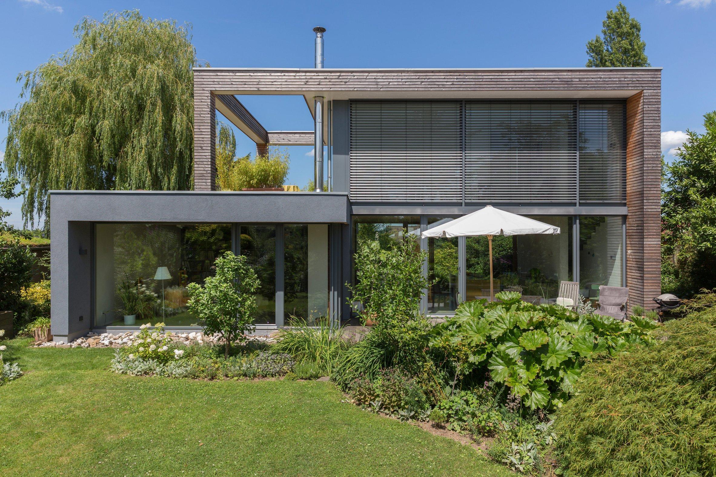 Einfamilienhaus Peters Garten Natur