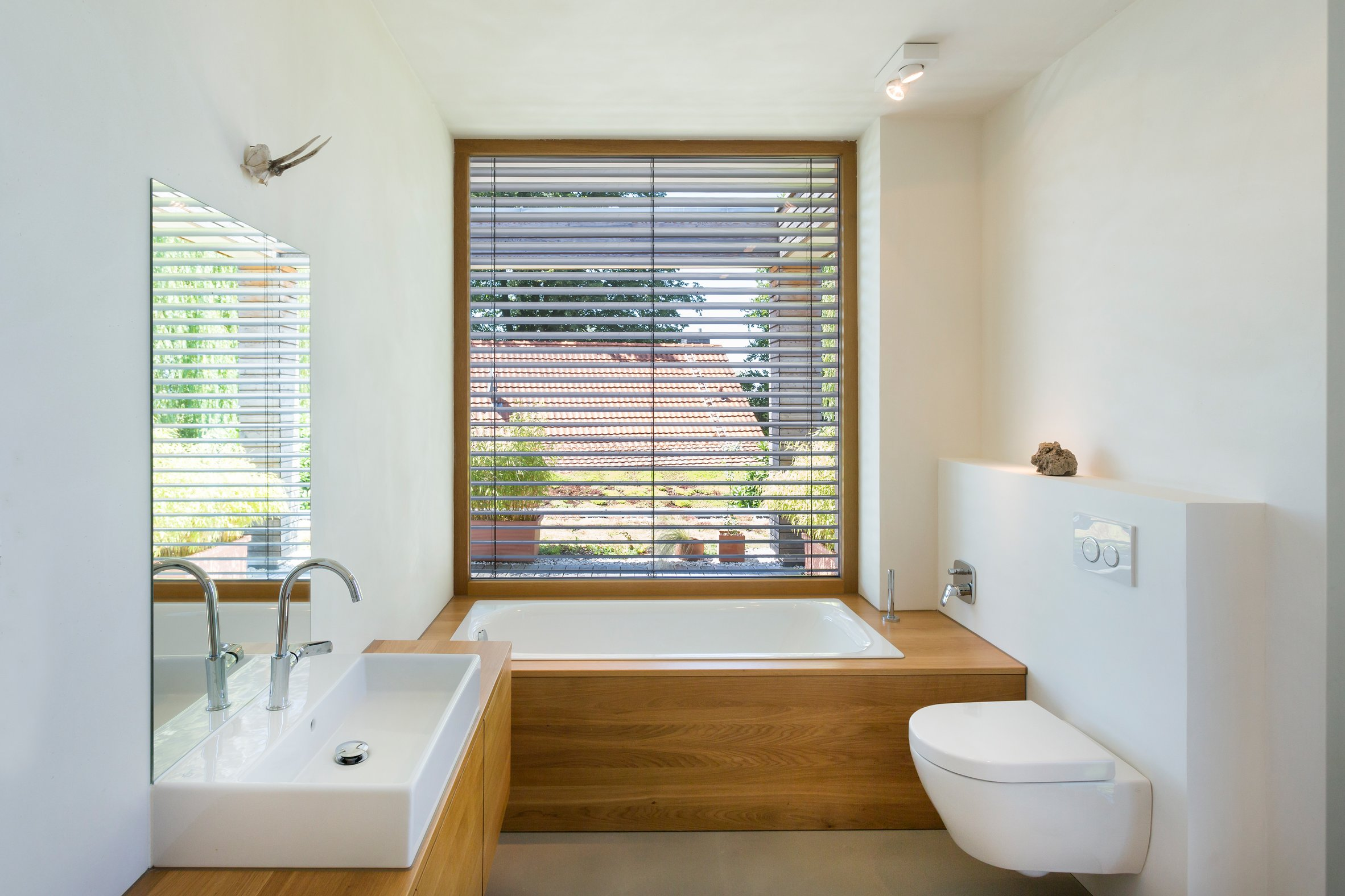 Modernes Badezimmer Haus Peters