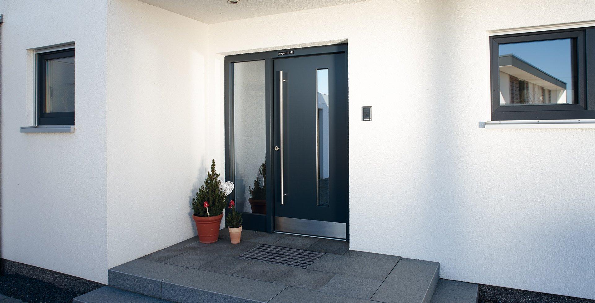 Außenansicht Eingangsbereich