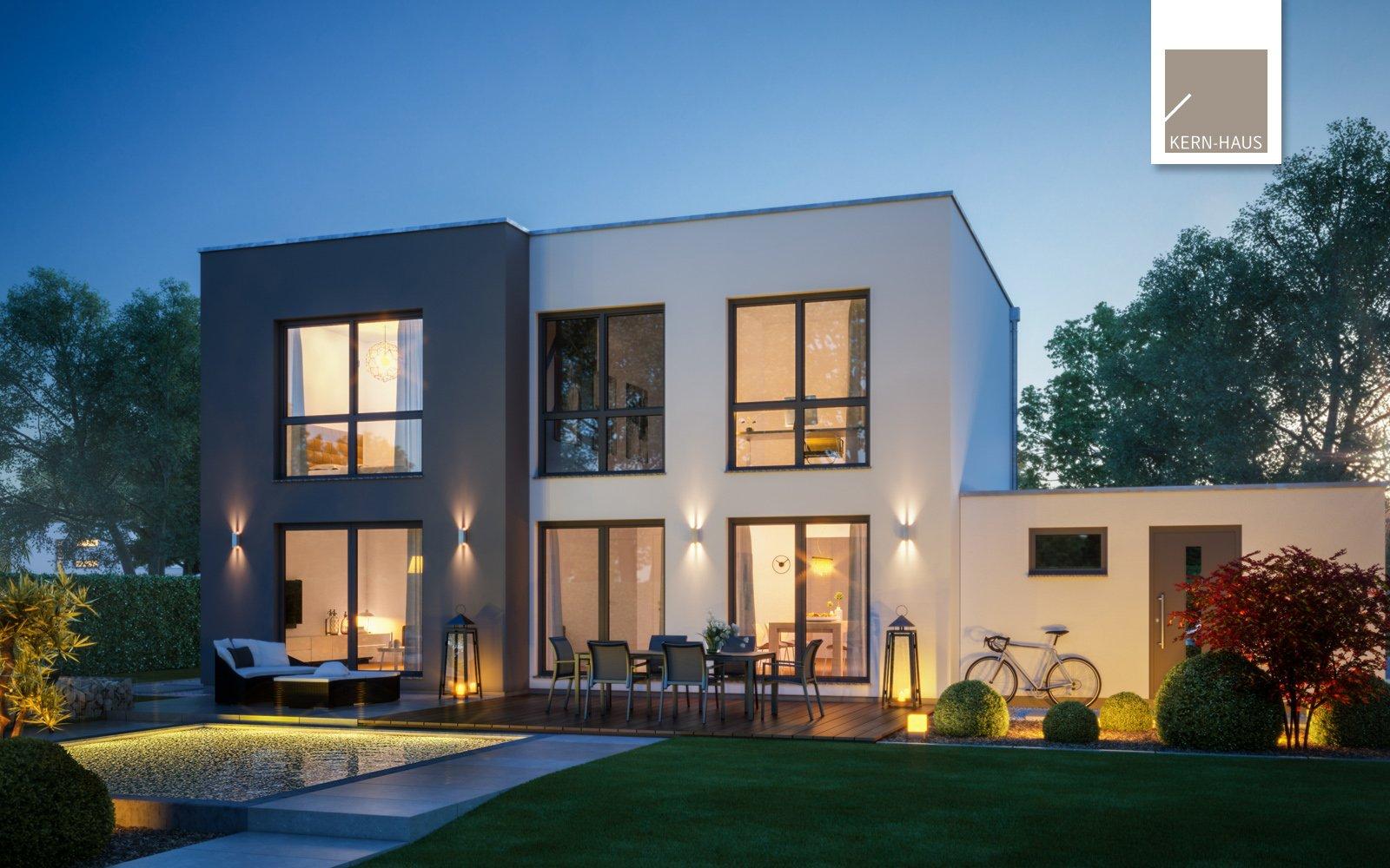 Bauhaus Modus bei Abend
