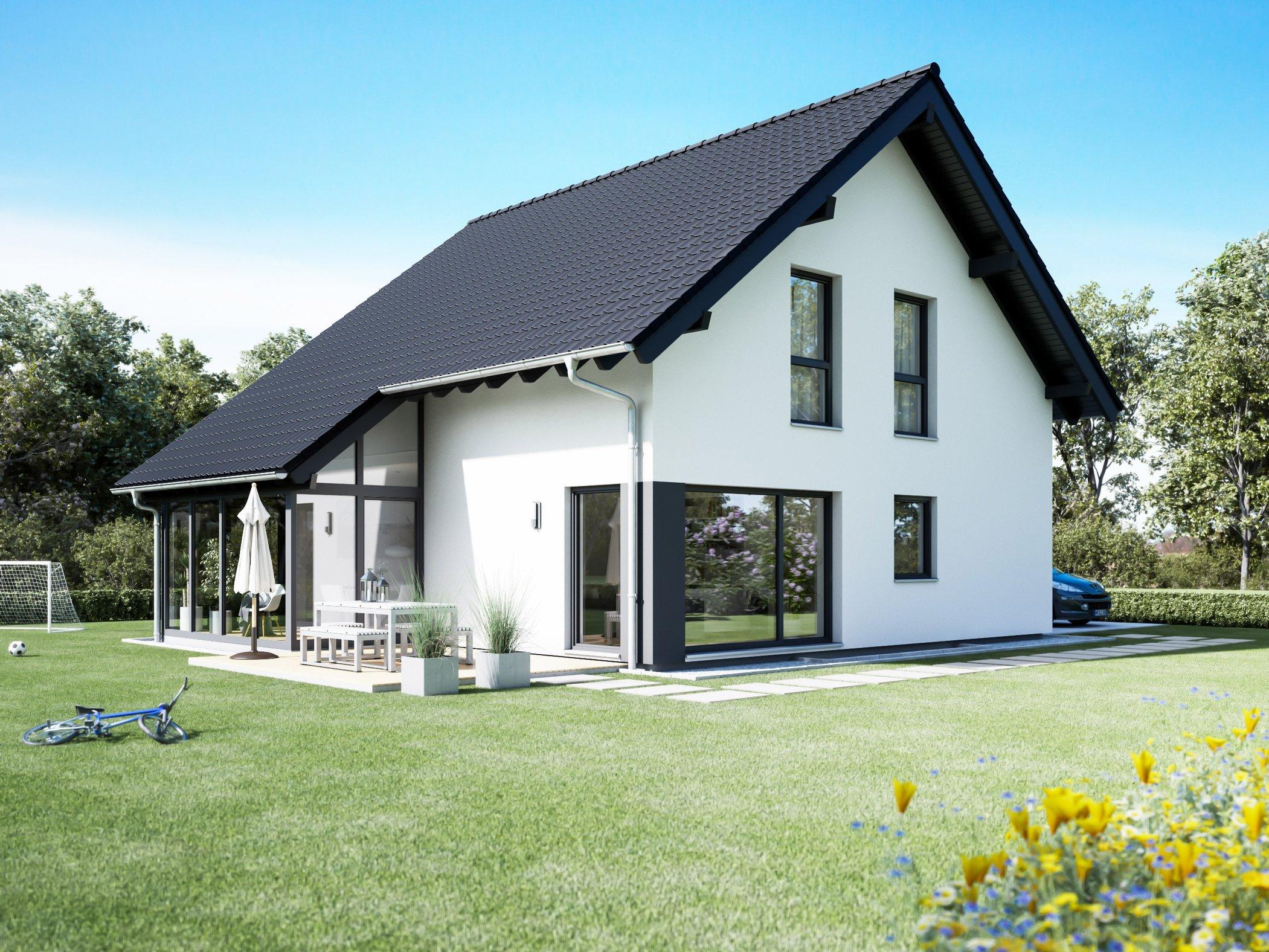 Ansicht des Hauses von FingerHaus GmbH