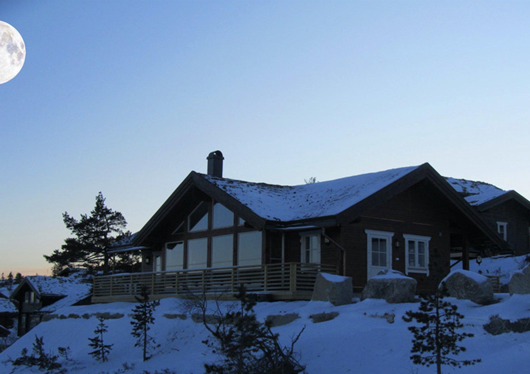 Ansicht des Hauses von FINNSCANIA