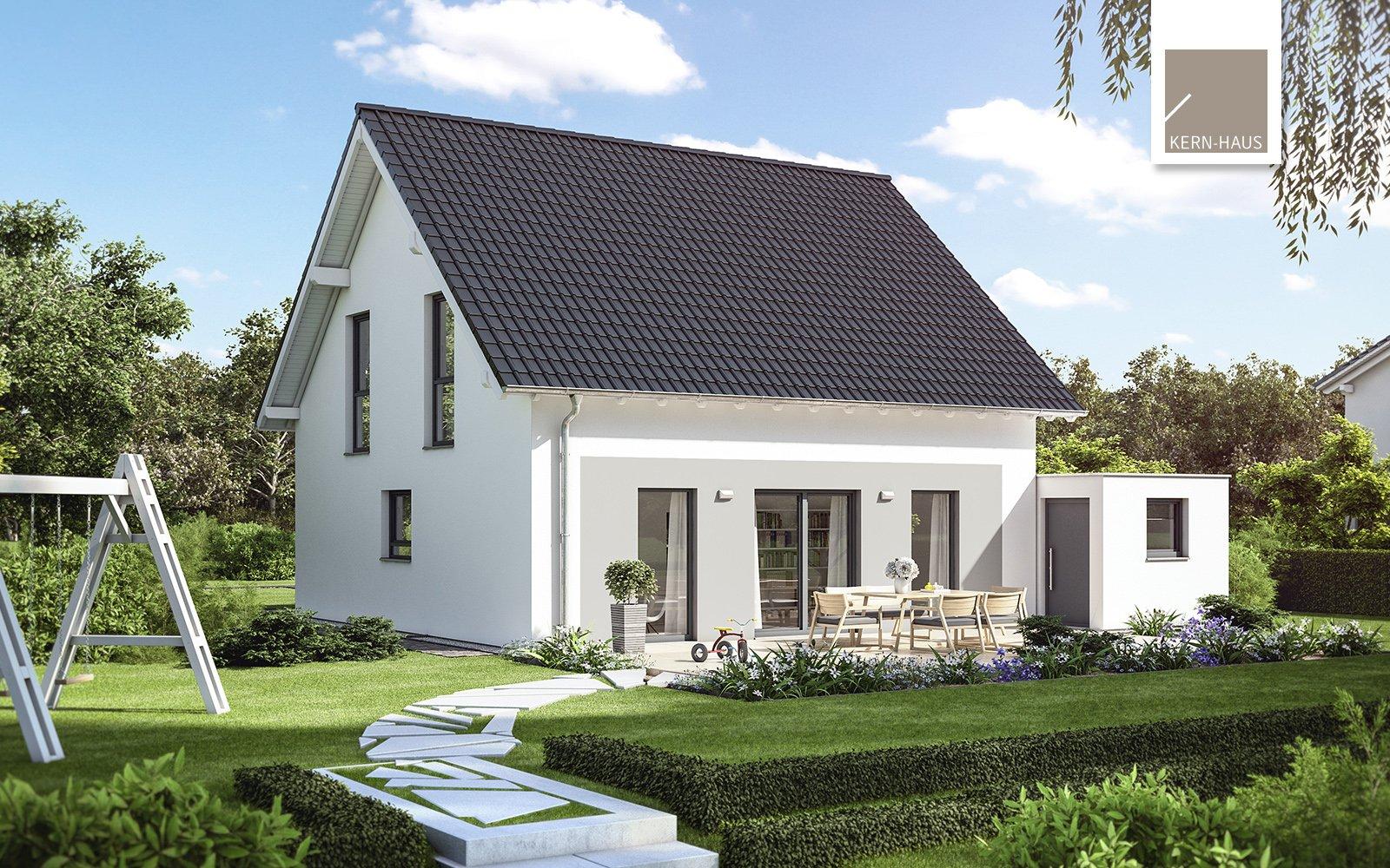 Kern-Haus Familienhaus Luna Gartenseite
