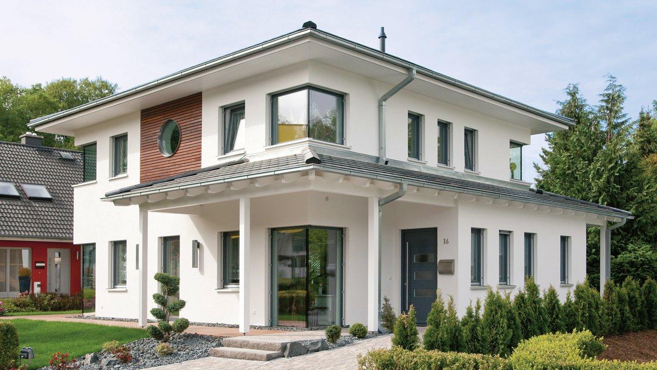 Ansicht des Hauses von Wolf-Haus GmbH
