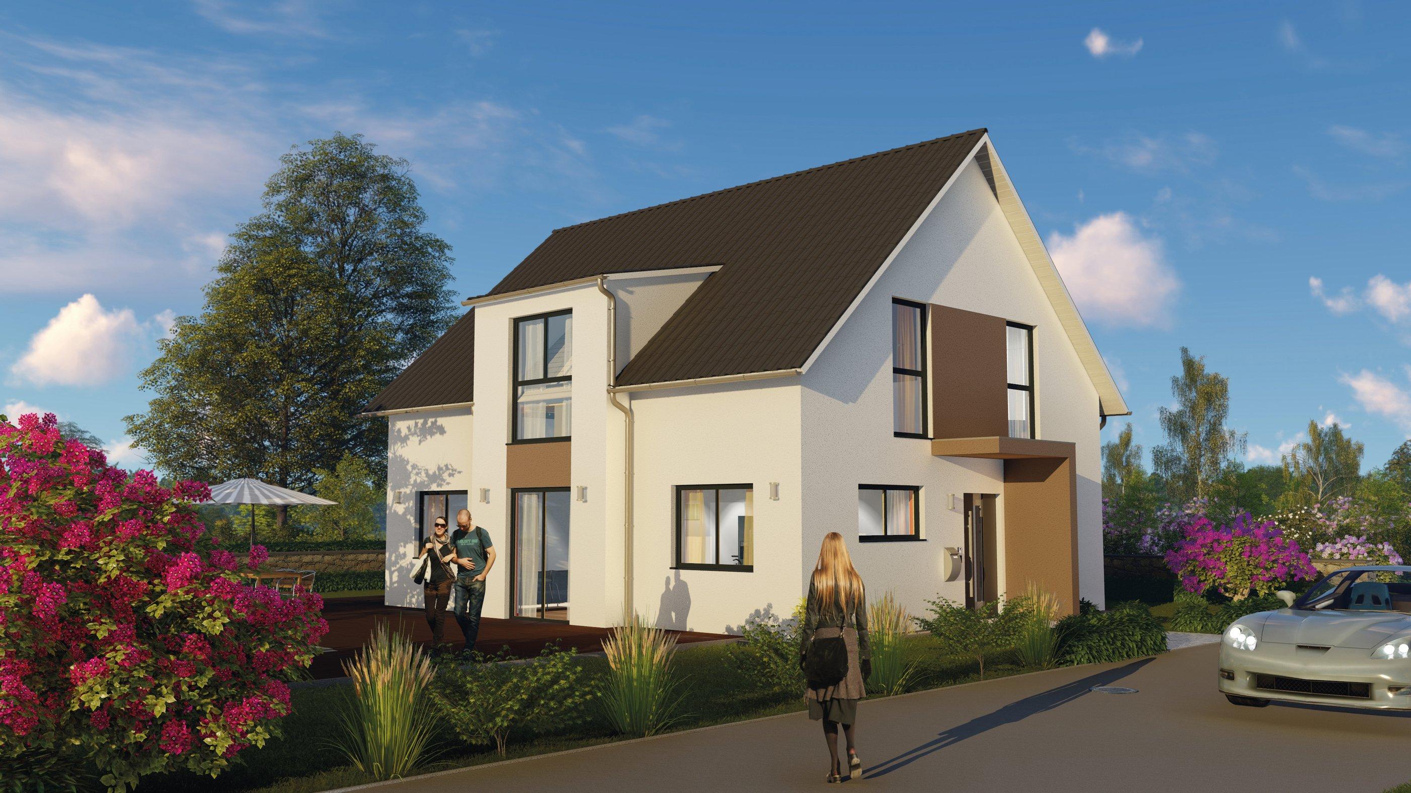 Ansicht des Hauses von ALBERT Haus GmbH & Co. KG