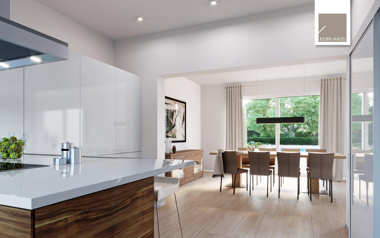 Kern-Haus Mehrfamilienhaus Vivaro Küche