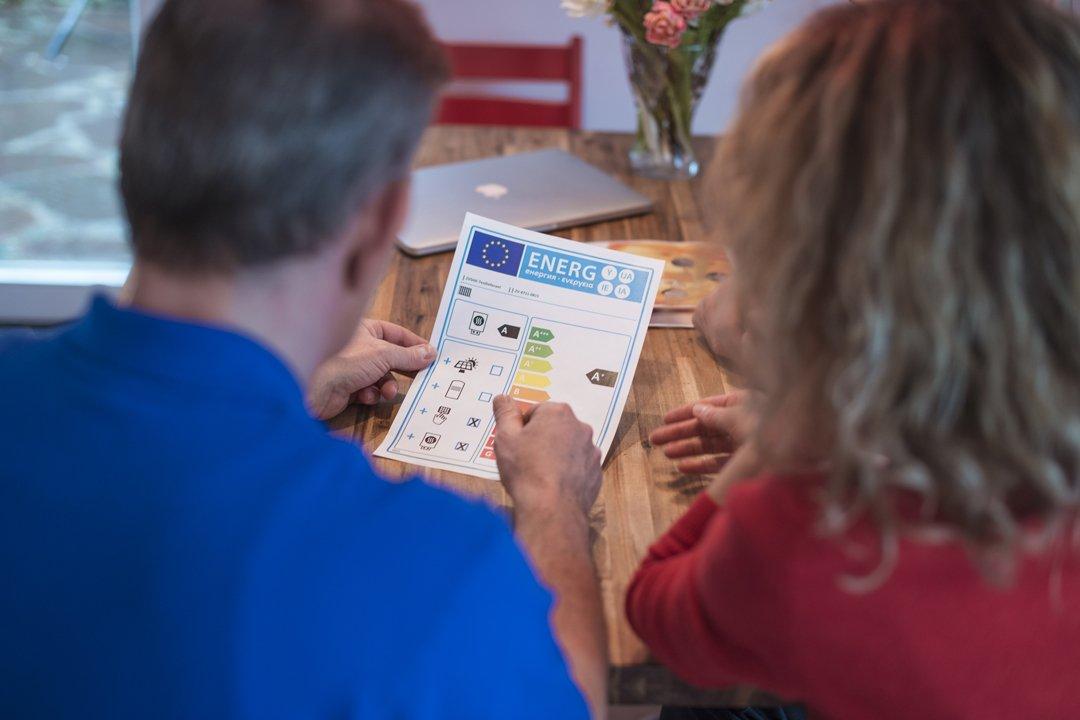 Energielabel für Heizungen: Das Label ergänzt beim Heizungskauf die Beratung durch den Fachhandwerker.