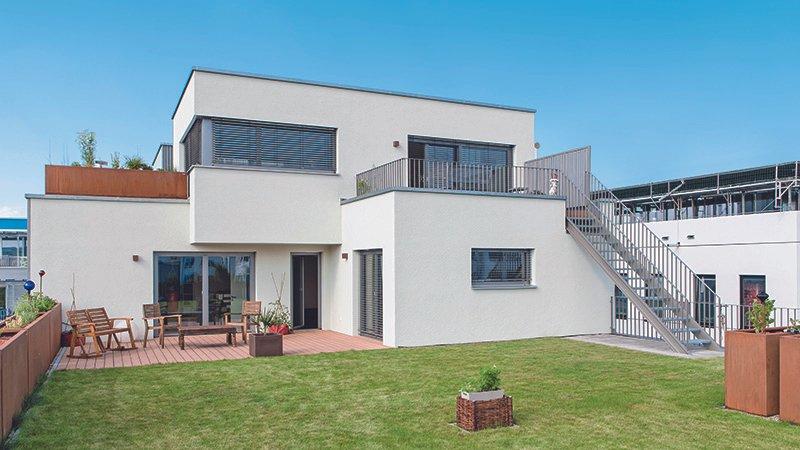 Ansicht des Hauses von Gruber Holzhaus GmbH