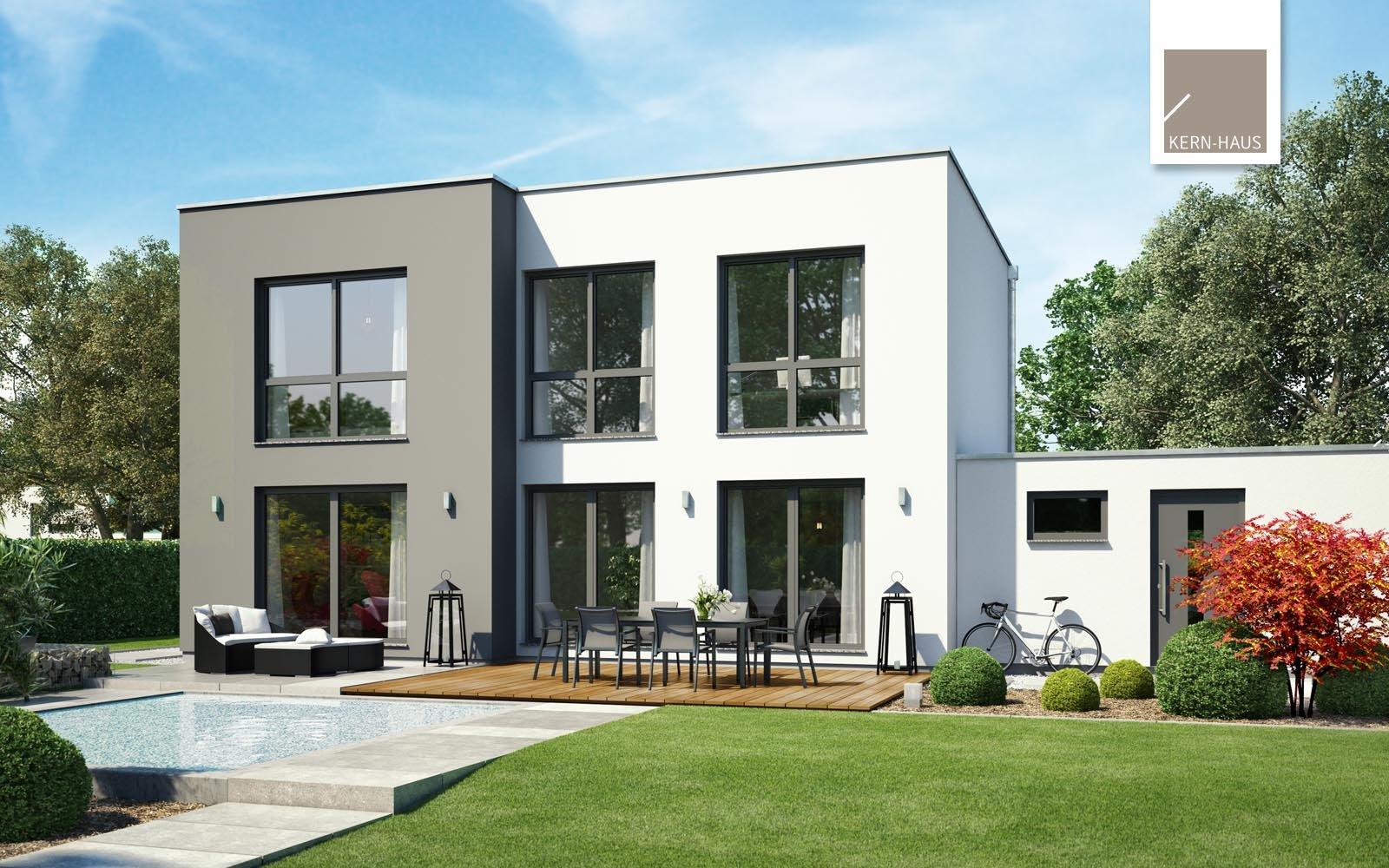 Bauhaus Modus Gartenansicht