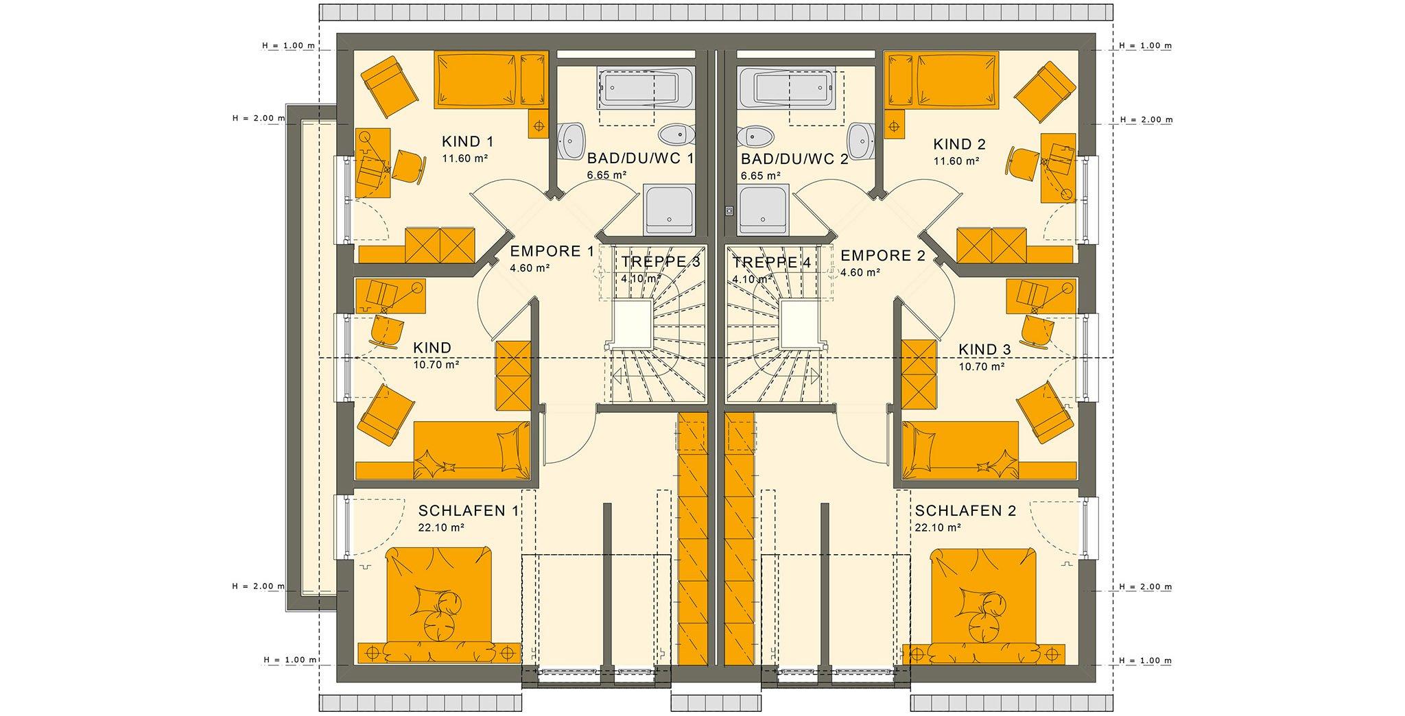 SOLUTION 242 V3 Dachgeschoss