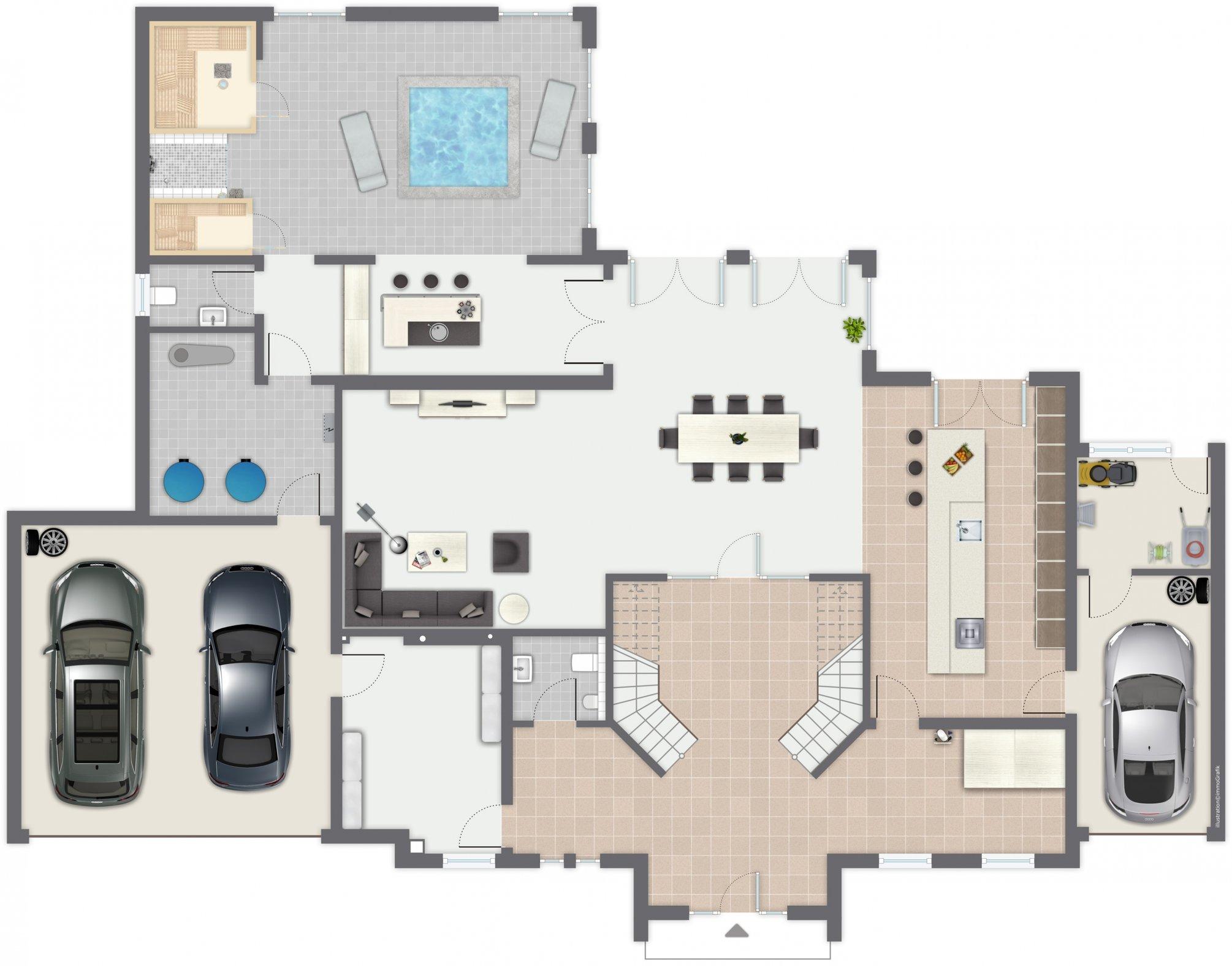 Ansicht des Hauses Cannstatt