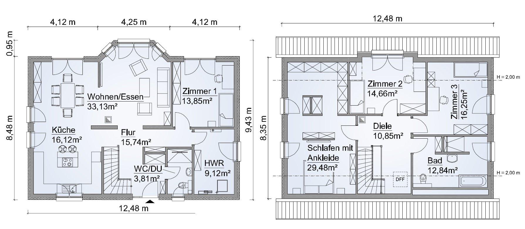 Grundriss SH 180 Variante D