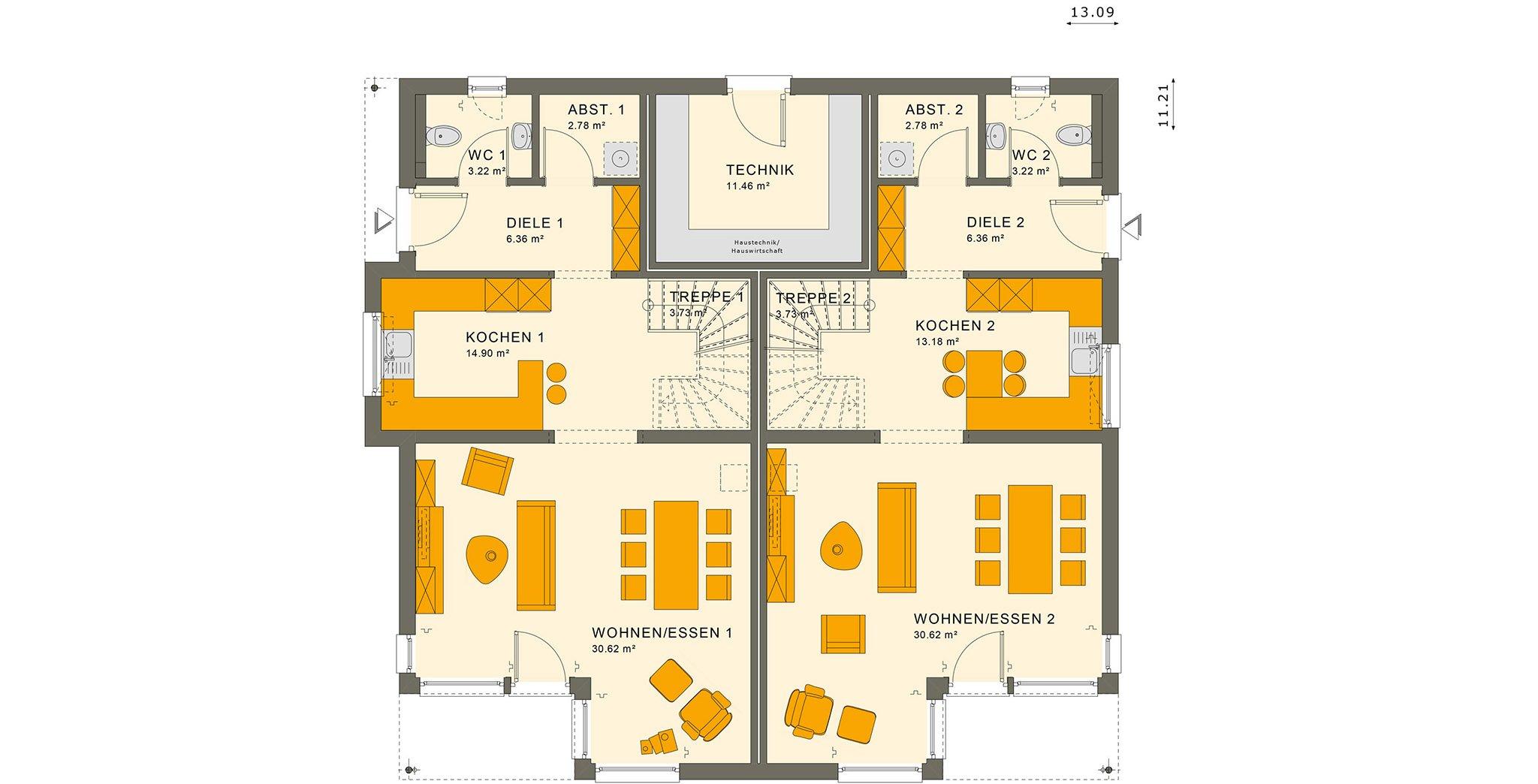 SOLUTION 242 V7 Erdgeschoss