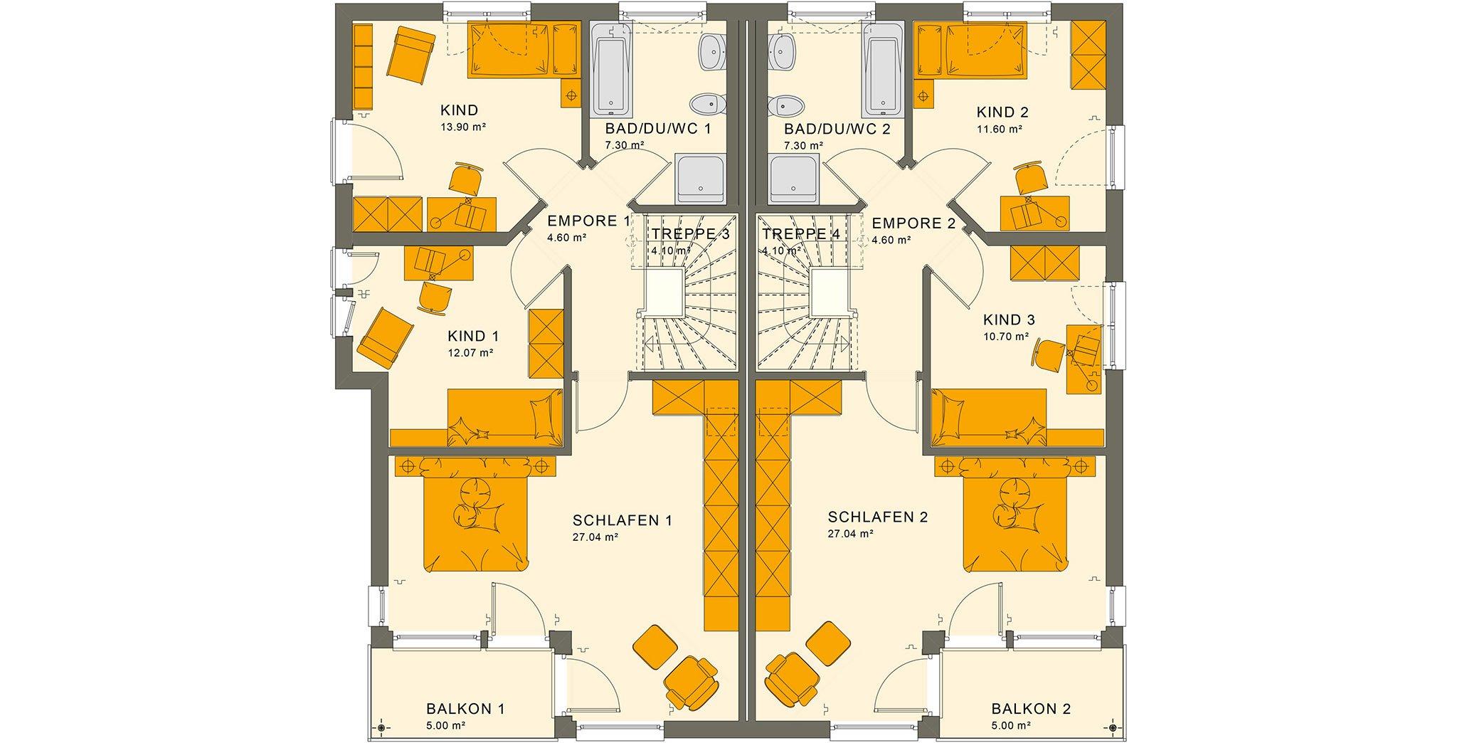 SOLUTION 242 V7 Obergeschoss