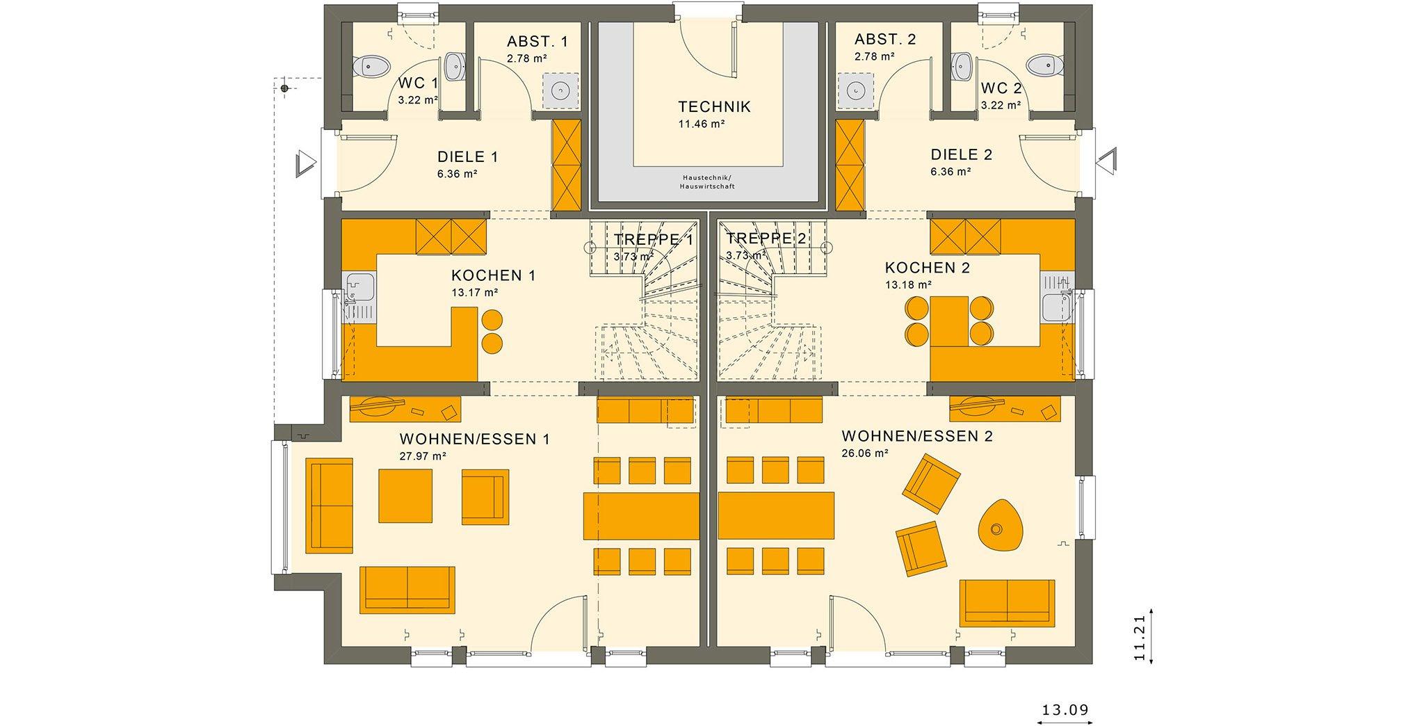 SOLUTION 242 V3 Erdgeschoss