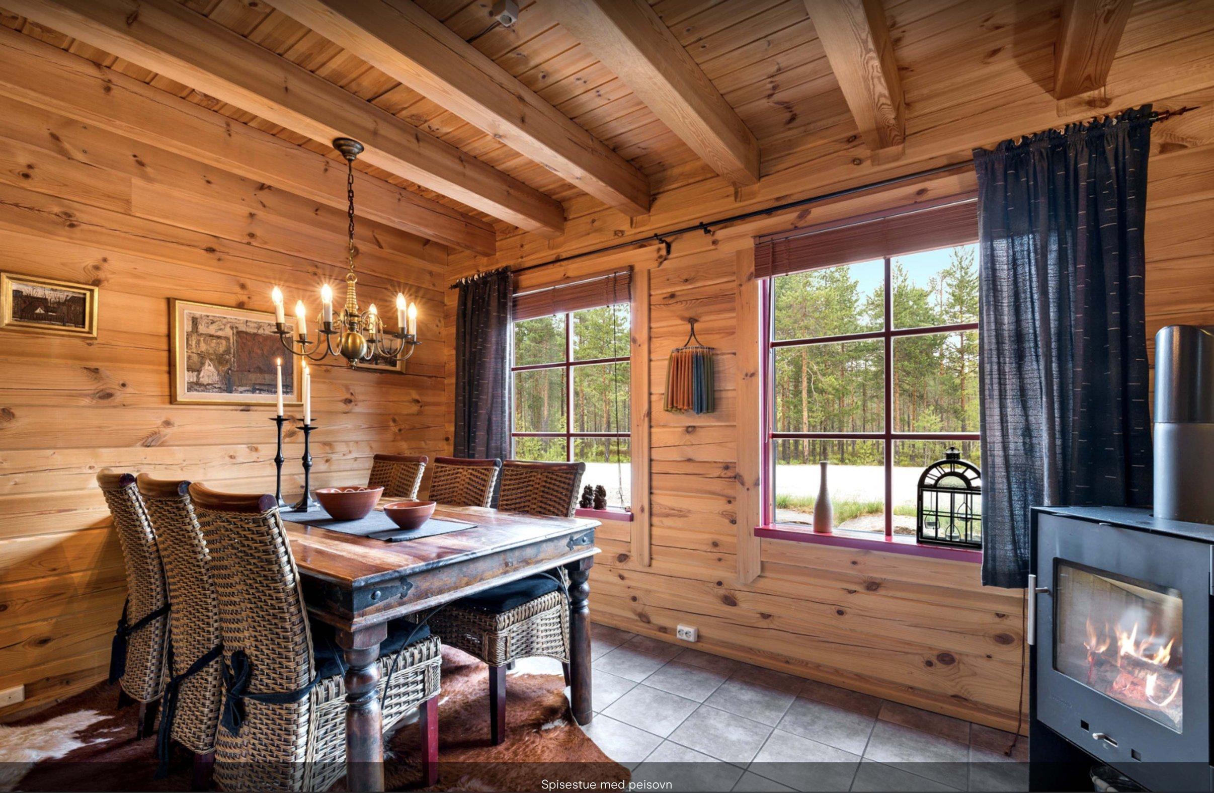 Ansicht des Hauses Ferienhäuser Beispiele