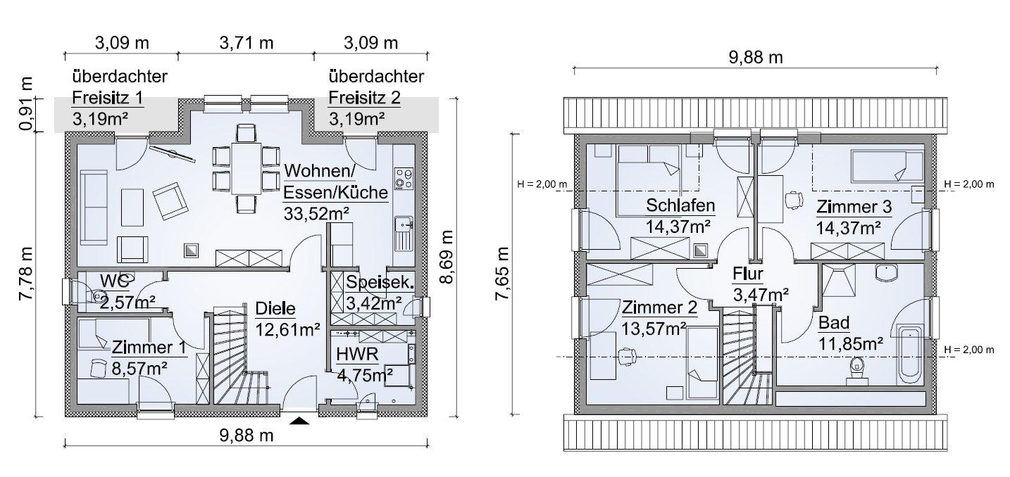 Grundriss SH 131 Variante C