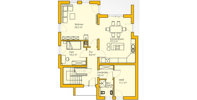 Ansicht des Hauses Innovationshaus 172