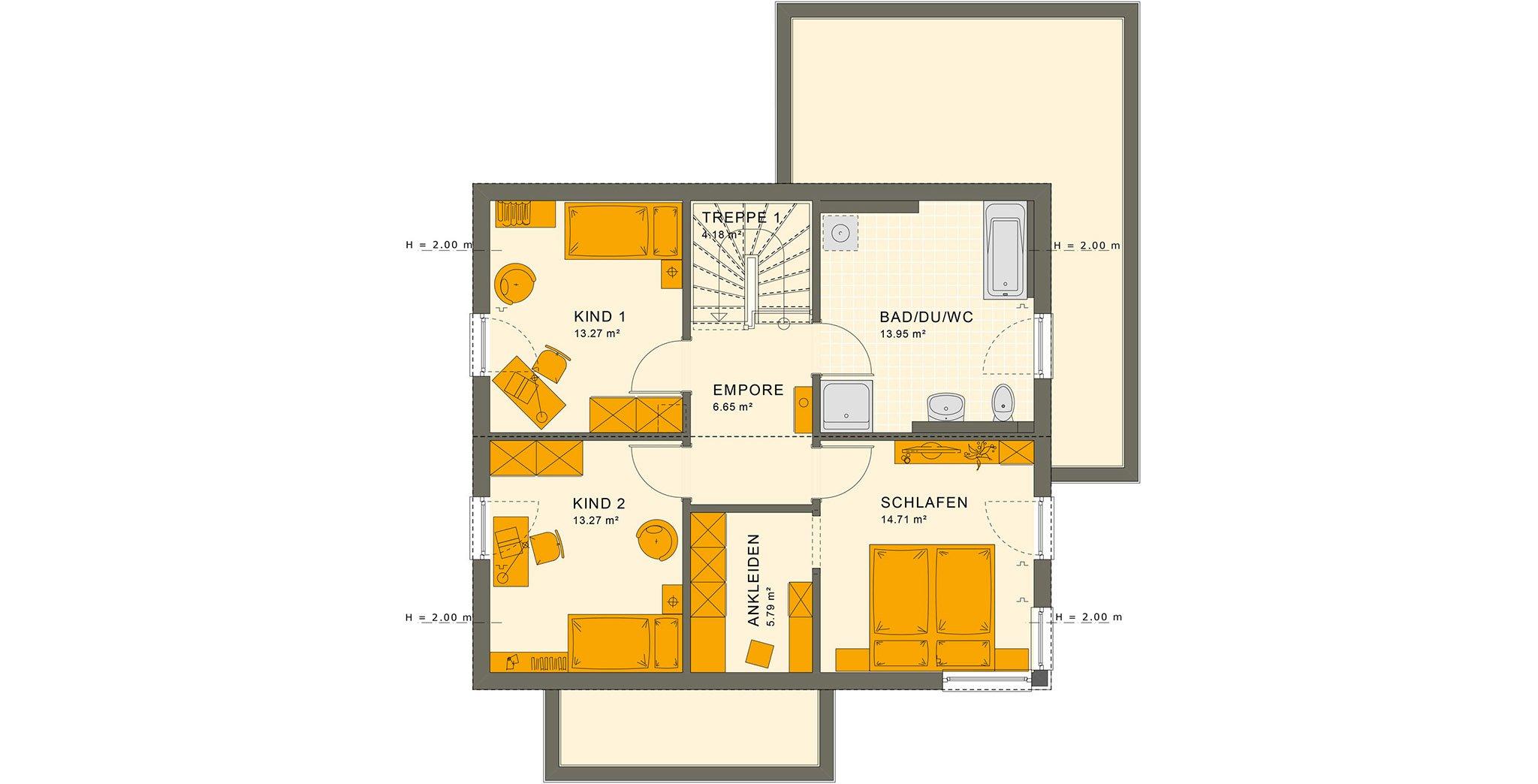 SUNSHINE 143 V5 Dachgeschoss