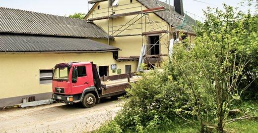 In nur fünfeinhalb Wochen Umbauphase ist aus dem ehemaligen Heuboden ein Wohnparadies für Claudia und Martin geworden.
