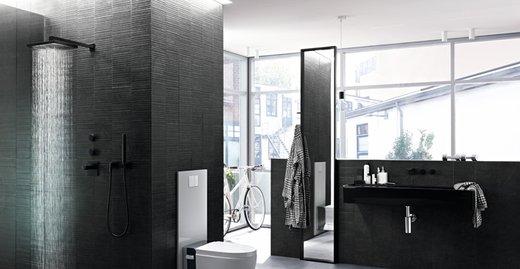 Exakt und ohne großen Aufwand: Die Duschrinne Geberit CleanLine lässt sich auf die gewünschte Größe des Duschplatzes anpassen.