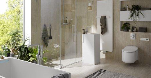 Die Duschkabinenserie PASA von Kermi überzeugt durch puristisches Design und hochklassige Funktionalität