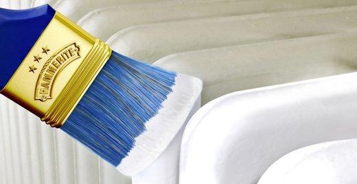 Heizkörper und andere Metalloberflächen in Haus und Wohnung erstrahlen mit dem Innen Metallschutz- & Heizkörperlack von HAMMERITE schnell in neuem Glanz.