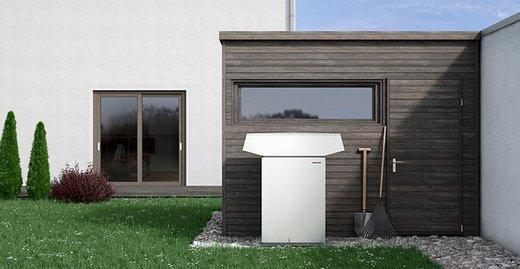 WPL 19/24 - außenaufgestellte Luft|Wasser-Wärmepumpe für die Sanierung