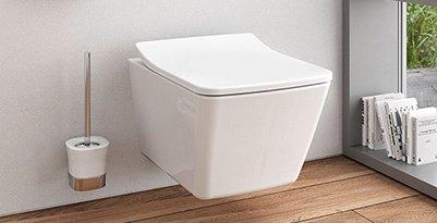 Das neue SP WC von TOTO hat ein schlichtes und elegantes Erscheinungsbild.