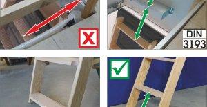Bodentreppen: Neue DIN 3193 und Sicherheitsvorschriften