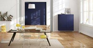 Ligran: solitäre und mobile Kastenmöbel von raumplus