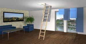 Schadstoffarme Bodentreppe für gesundes Wohnen.