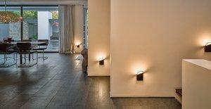 Stimmungsvolles Licht ohne Installationsaufwand: Kabellose Wandleuchte Winglet CL