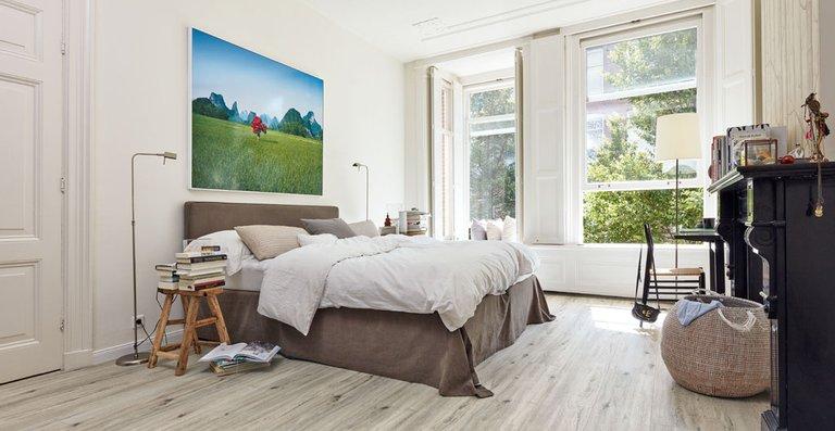 MEISTER Designboden Tecara DD 350 S Eiche markant grauweiß 6971   Woodlike-Struktur   Holznachbildung