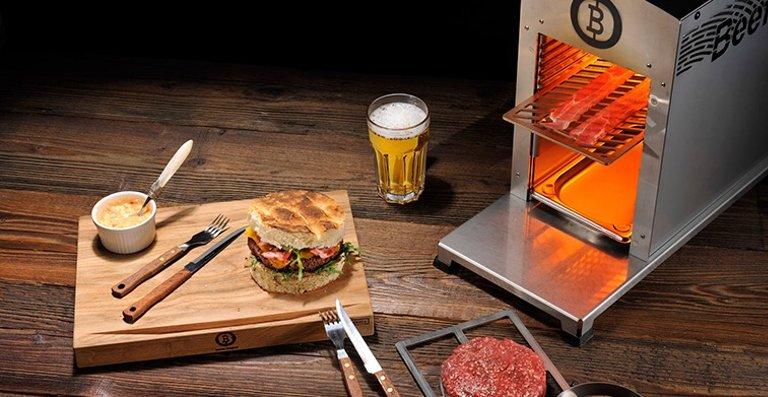Höllischheiße 800 Grad Oberhitze: Mit dem Beefer Original unbeschreibliche Geschmacksexplosionen erleben!