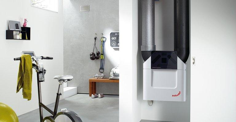 Zehnder ComfoAir Q eignet sich für den Einsatz in Wohnungen, Einfamilienhäusern, Büroräumen sowie Gewerbebauten