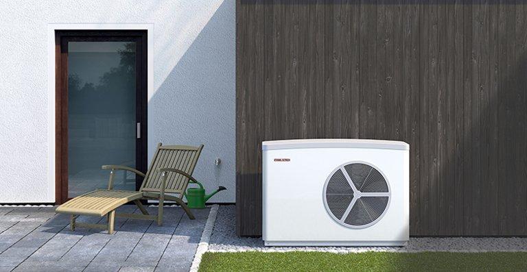 WPL 25 - außenaufgestellte Luft|Wasser-Wärmepumpe für die Sanierung