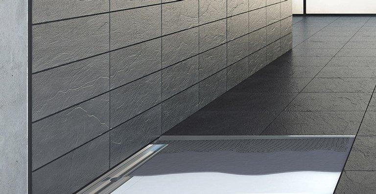 Das neue Bodensystem ACO ShowerFloor: Flexibel, einfach, schnell zur barrierefreien Design-Dusche.