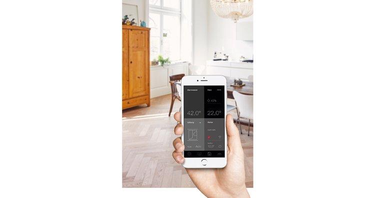 Alle Einstellungen lassen sich einfach per GDTS Home App auf jedem Smart-Device steuern. Jetzt für iOS und Android in den Stores verfügbar.