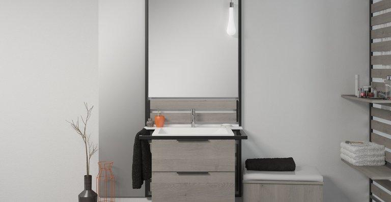 Das innovative Möbelkonzept in jungem, puristischem Design ist für eine flexible Nutzung geschaffen.