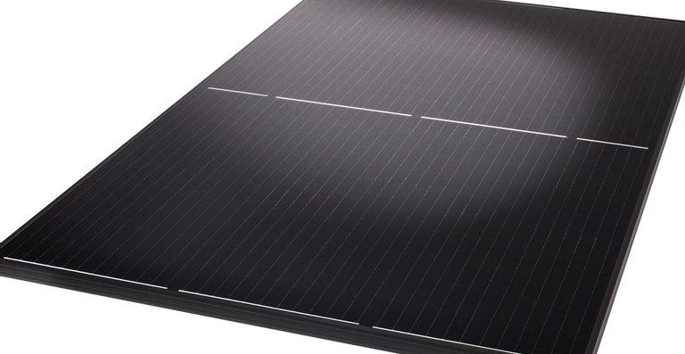 Ganz in Schwarz: Das Solarmodul Q.PEAK DUO BLK-G5.