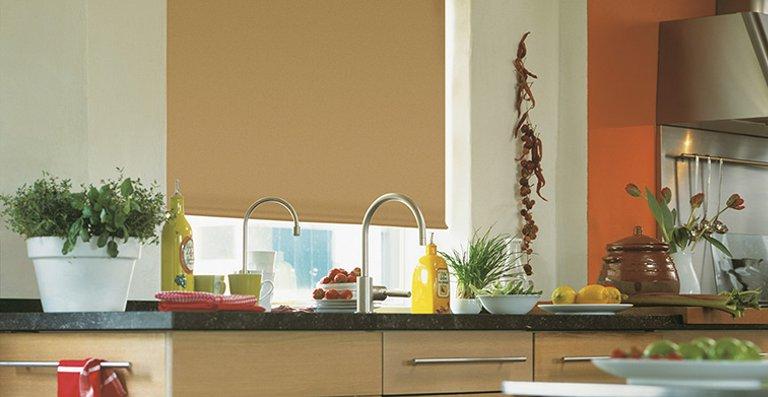 Verdunkelung in der Küche – perfekt für heiße Sommertage