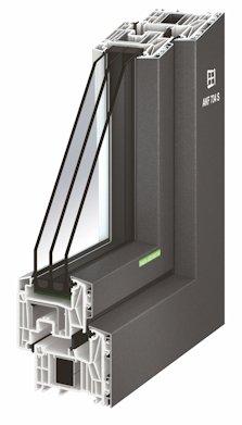 Das hochwertige Kunststoff-Profil sorgt für Formstabilität, eine hohe Wärmedämmung und einen guten Schallschutz. Auch ein erhöhter Einbruchschutz des Aluminium-Kunststoff-Fensters bis zur Widerstandsklasse RC 2 ist möglich.