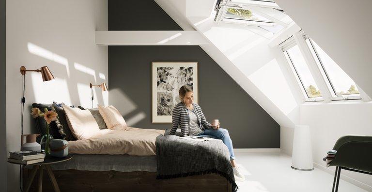 Tageslicht ist einzigartig – besonders im Winter schützt es effektiv vor Schläfrigkeit und schlechter Stimmung, hier dank der Lichtlösung Panorama.