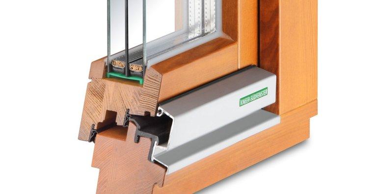 Die neue Generation bei Holzfenstern überzeugt mit einem hervorragenden Wärme- und einem guten Witterungsschutz. Der Naturbaustoff Holz prägt dabei ein behagliches Wohnambiente.