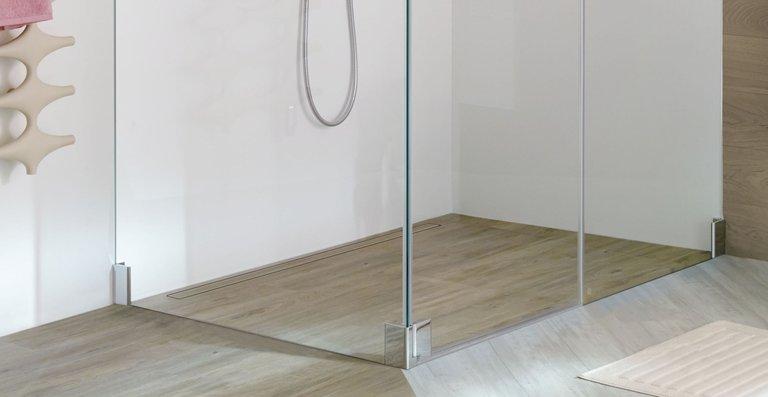 Die Abbildung zeigt das Kermi LINE XXL-Zuschnitt-Board Länge 1000 x Breite 1800 mm, zugeschnitten auf das individuelle Maß von Länge 1000 x Breite 1400 mm.