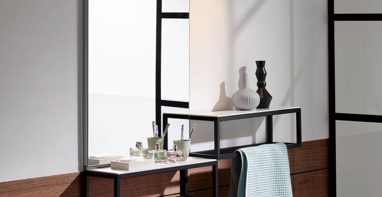 Die Spiegel von Junit weisen den üblichen Qualitätsstandard von burgbad auf.