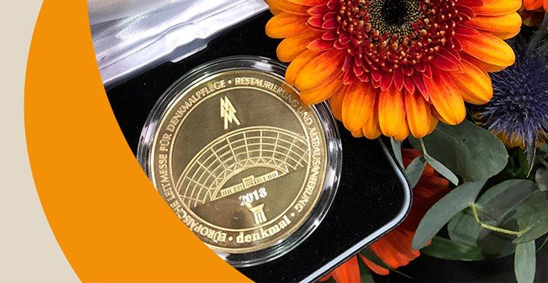 Goldmedaille für die langlebige und überzeugende Gestaltung von Feinsteinzeugfliesen.